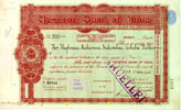 Share Certificates