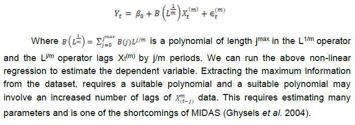 Annex Note III: MIDAS