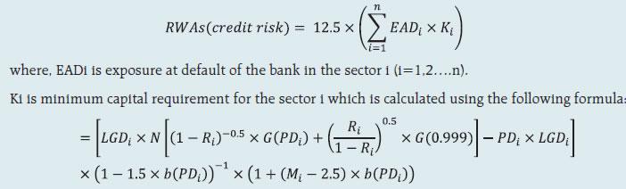 IRB formula