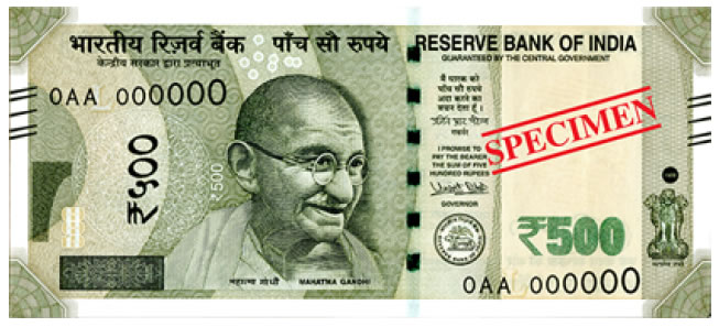 New rs 500 BankNotes