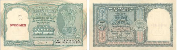 Bucks and Doe on Rs. 5