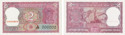 Mahatma Gandhi Centenary Issues – Rs. 2
